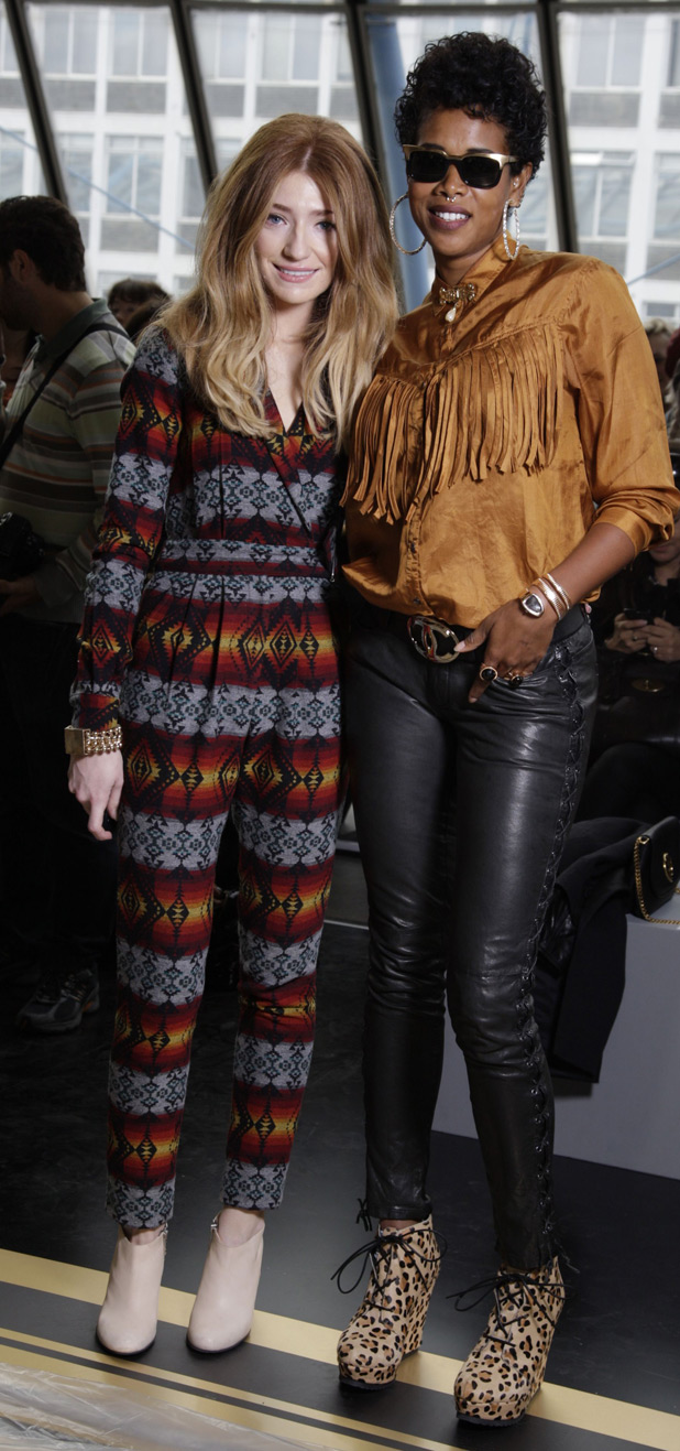 Nicola Roberts and Kelis