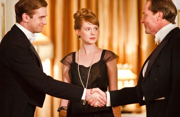 Matthew, Lavinia and Sir Richard Carlisle