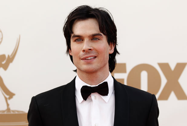 Ian Somerhalder on the red carpet at the 63rd Primetime Emmy Awards
