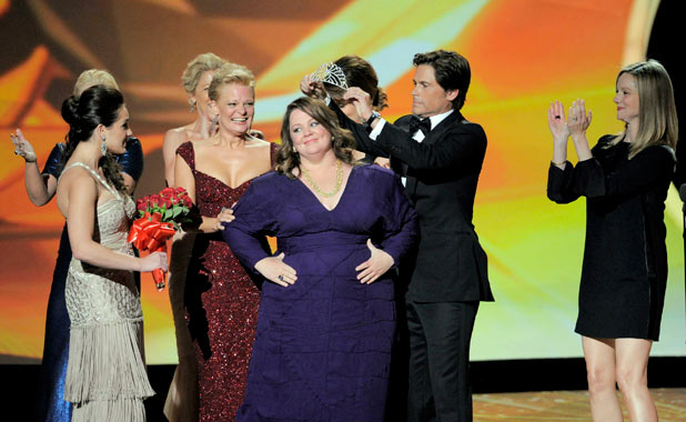 Melissa McCarthy at the 63rd Primetime Emmy Awards