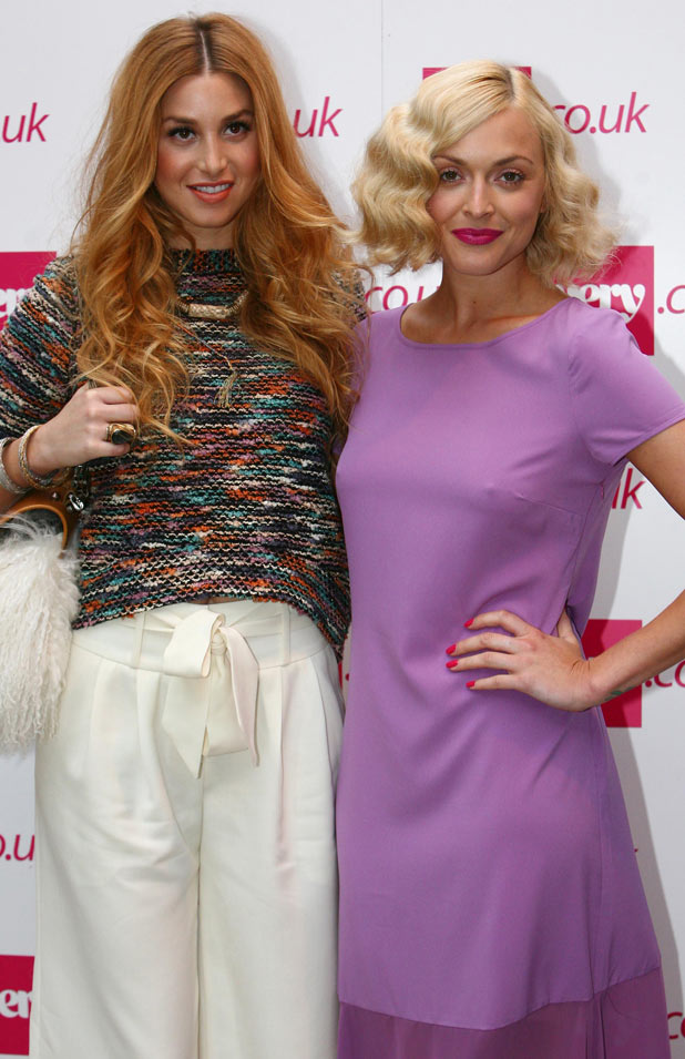 Fearne Cotton and Whitney Port