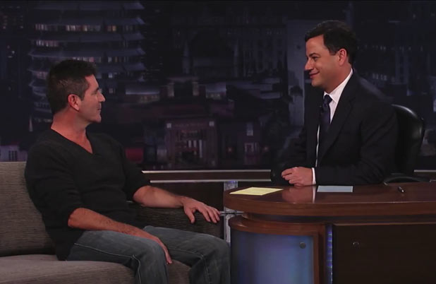 Simon Cowell on Jimmy Kimmel Live