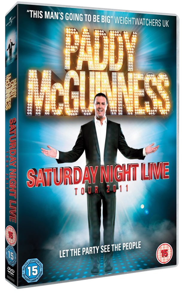 Paddy McGuinness - Saturday Night Live pack shot