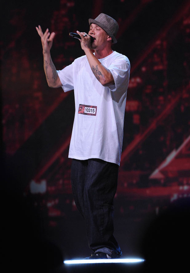 The X Factor USA Ep. 1: Chris Rene