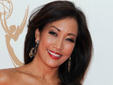 Carrie Ann Inaba on the red carpet at the 63rd Primetime Emmy Awards