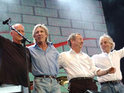 Roger Waters discusses his famous feud with his former Pink Floyd bandmates.