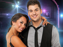 The dancer will perform three routines with Rob Kardashian on tonight's semi-final.