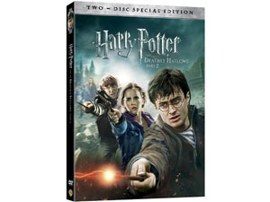 Hatty Potter and the Deathly Hallows DVD pack shot