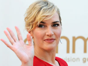 Kate Winslet on the red carpet at the 63rd Primetime Emmy Awards
