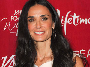 Demi Moore attends Variety&#39;s 3rd Annual Power Of Women lunch