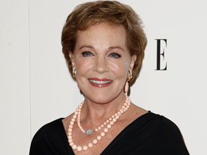 Julie Andrews - The Golden Globe, Emmy, Grammy and Academy Award-winning actress is 76 on Saturday.