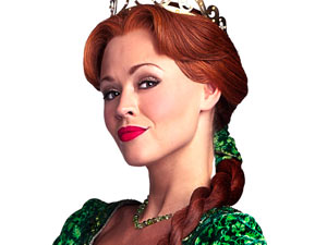 Kimberley Walsh in Shrek