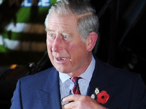 Prince Charles at The Pride of Britain Awards