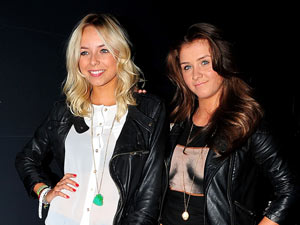 Sacha Parkinson and Brooke Vincent at the relaunch celebration for the Malmaison Hotel, Liverpool