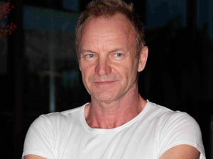 Sting - The singer-songwriter celebrates his 60th birthday on Sunday. 