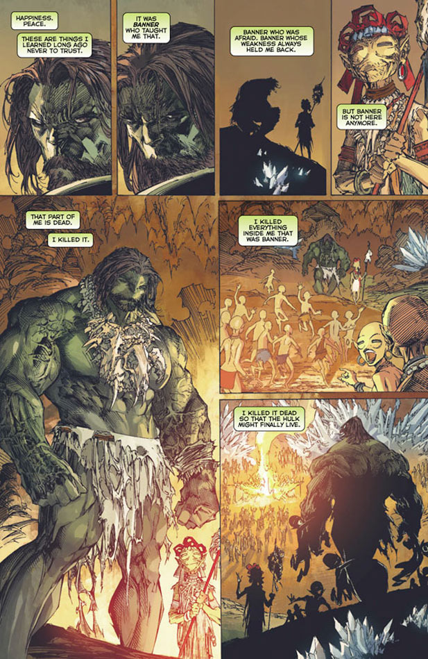 Incredible Hulk 1 Preview