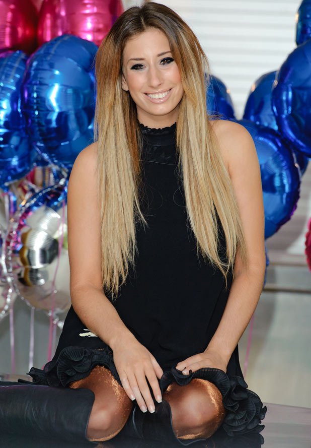 Stacey Solomon - The X Factor and I'm A Celebrity favourite is 22 on Tuesday.