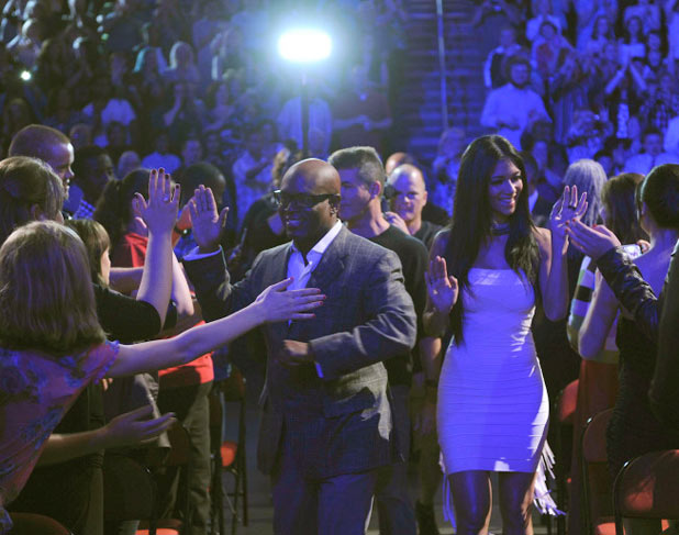 The X Factor USA: L.A. Reid and Nicole Scherzinger