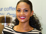 Alesha Dixon at Macmillan's World's Biggest Coffee Morning