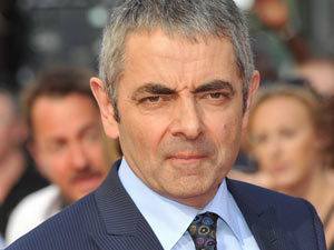Rowan Atkinson arrives for the UK premiere of &#39;Johnny English Reborn&#39;