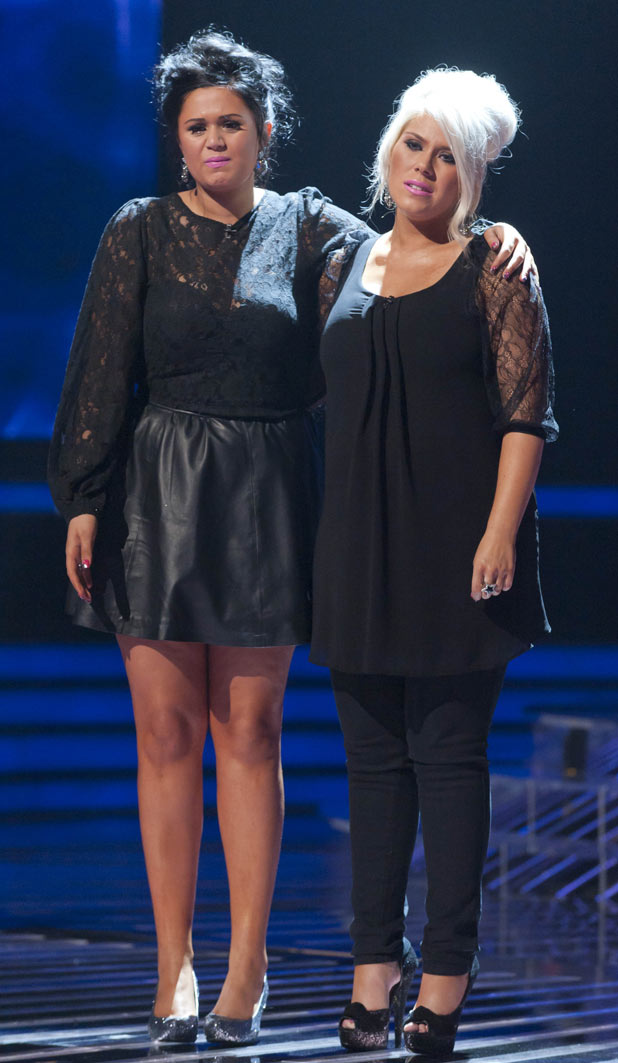 The X Factor 2011 Results Show - 2 Shoes are sent home
