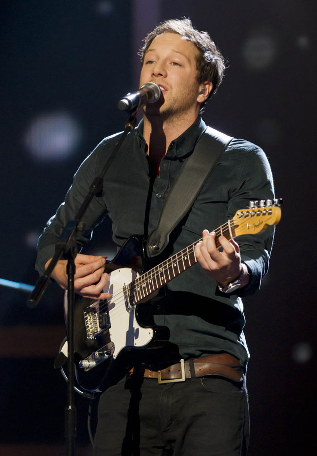 The X Factor 2011 Results Show - Matt Cardle performs