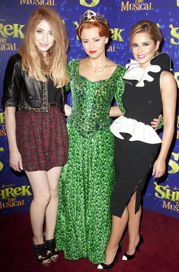 Kimberley Walsh, Cheryl Cole and Nicola Roberts