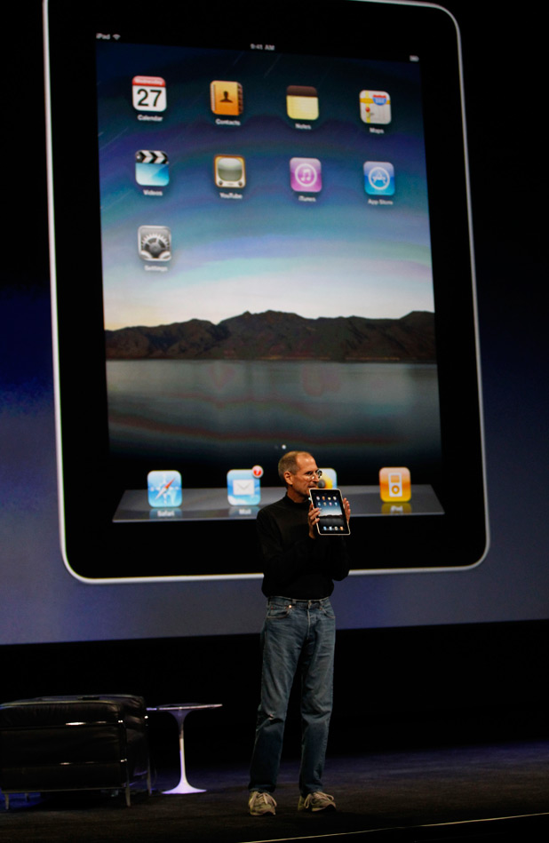 Apple iPad - April 2010.