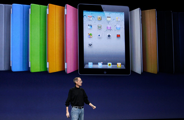 Apple iPad 2, March 2011.