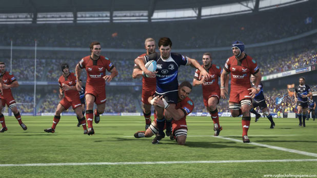Jonah Lomu Rugby Challenge screenshot