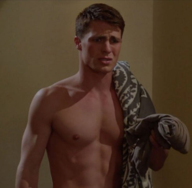 Colton Haynes in 'Nine Lives'