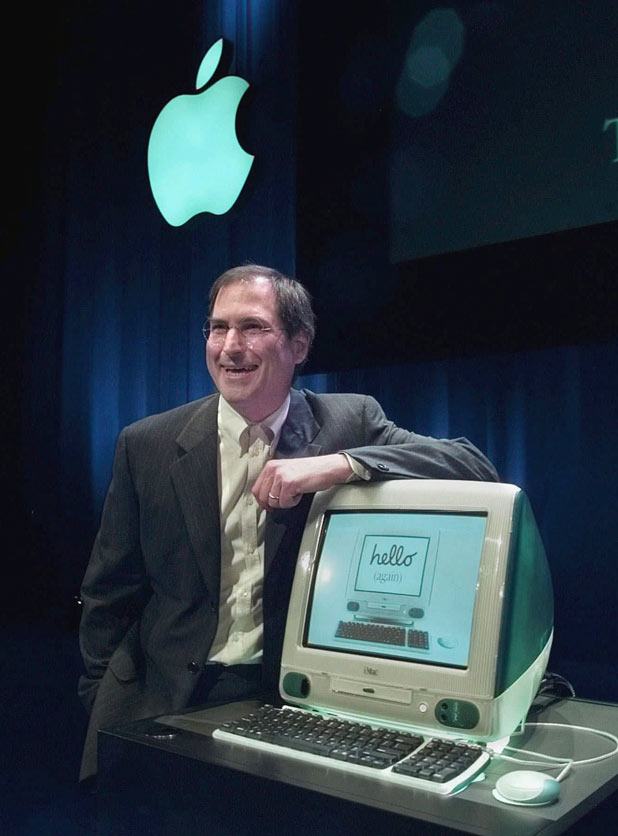 The iMac computer launch