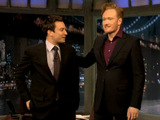 Jimmy Fallon and Conan O'Brien