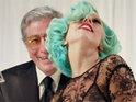 Lady GaGa drinks, dances and dresses up in the video for her duet with Tony Bennett.