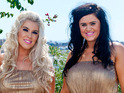 Charley Bird and Lucy Texeira aka 2 Shoes chat to DS about mirco-pigs and X Factor.