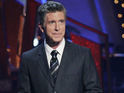 "Tom Bergeron admits that the new ballroom layout is a ""little strange""."
