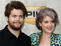 Kelly Osbourne says she gets on well with brother Jack's fiancée Lisa Stelly.