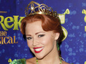 The Girls Aloud star will perform her final show as Princess Fiona in May.