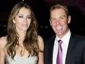 "Liz Hurley claims that she doesn't like to be ""serious"" with fiancé Shane Warne."