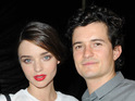 Miranda Kerr says that she and Orlando Bloom like to travel together.