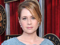 The Office star Jenna Fischer gives birth to a baby boy.