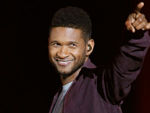 Usher - The American singer-songwriter is 33 on Friday.