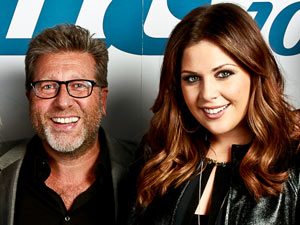 Neil Fox with Lady Antebellum for Magic FM