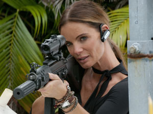 Gabrielle Anwar in 'Burn Notice'