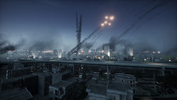 Tehran Highway in Battlefield 3
