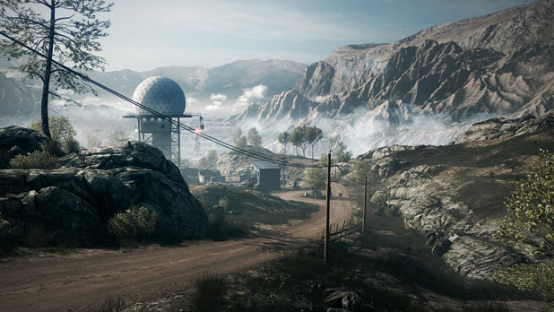 Damavand Peak in Battlefield 3
