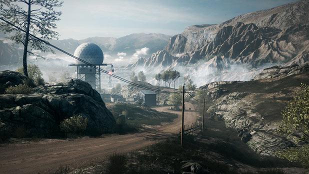 Damavand Peak in Battlefield 3