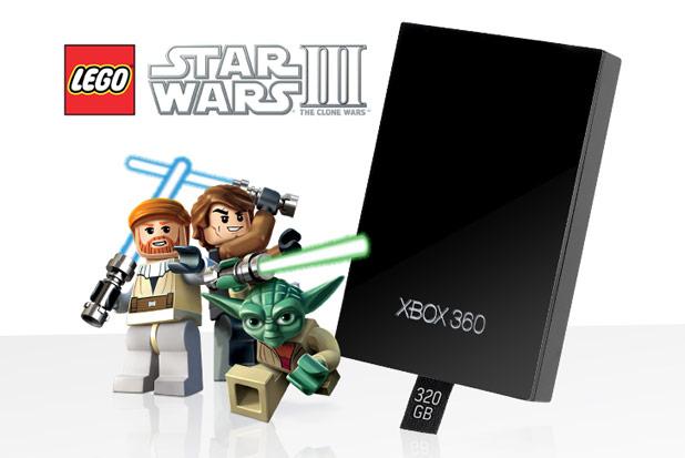 320GB Xbox 360 hard drive