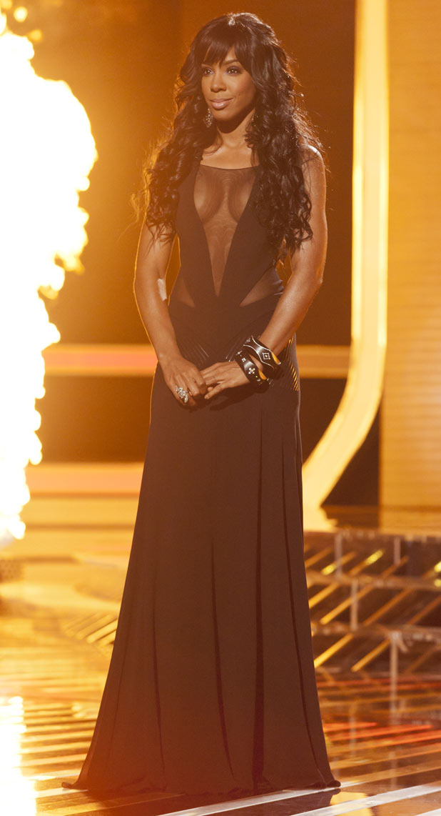 The X Factor 2011 Results Show: Kelly Rowland