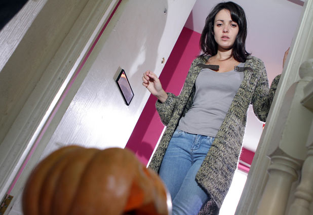 Hollyoaks - Lynsey Nolan (Karen Hassan) continues to be tormented by Silas Blissett. She tells Doug Carter (PJ Brennan) what is going on.